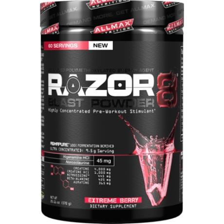 Allmax Razor 8 BLAST powder