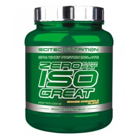 Scitec ISOGreat Zero Carbs/Fat/sugar