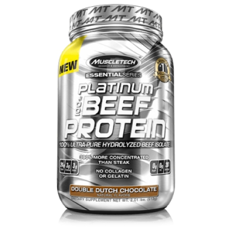 MuscleTech Essenial 100% Beef Protein