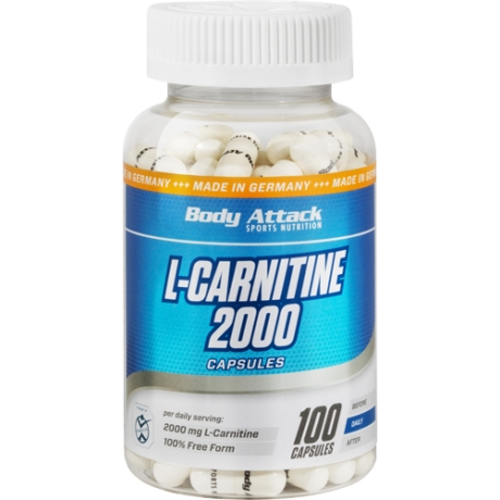 BODY ATTACK L-CARNITINE 2000 -CAPSULE