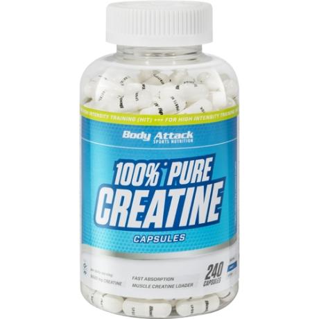 BODY ATTACK 100% PURE CREATINE